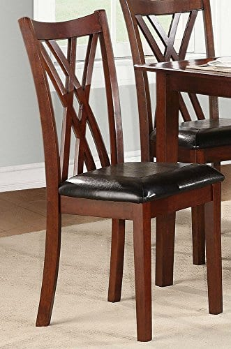 Homelegance Brooksville 6 Piece Dining Table Set With Bench Cherry 0 2