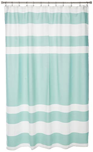 JLA Home INC Madison Park Spa Waffle Shower Curtain With 3M Treatment Water Repellent Stain Resistant 0