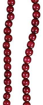 Kurt Adler Red Wooden Cranberry Garland TN0066BURG 0 0 150x360