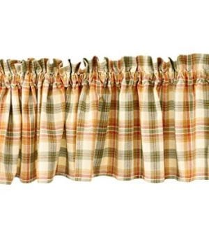 Lemon Pepper Plaid Valance Tiers And Swag By Park Designs 0 300x360