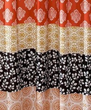 Lush Decor Bohemian Stripe Shower Curtain 0 0 300x360