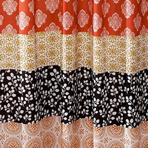Lush Decor Bohemian Stripe Shower Curtain 0 0