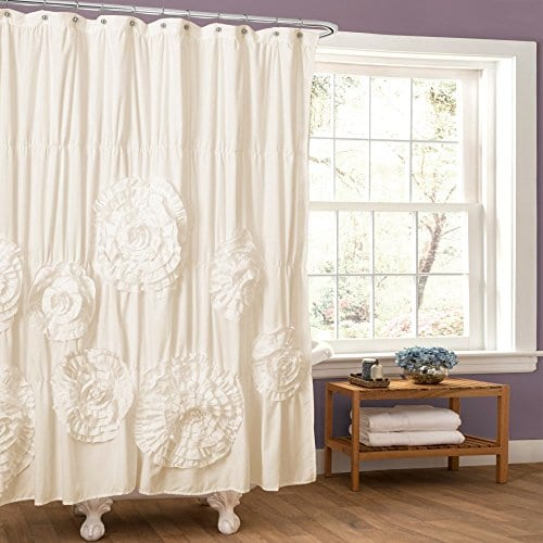 Lush Decor Serena Shower Curtain 0