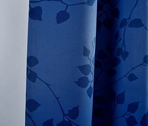 MYSKY HOME Twigs Fashion Design Print Thermal Insulated Blackout Curtain With Grommet Top 0 1