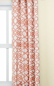Madison Park Daven Printed Fretwork 3M Scotchgard Outdoor Panel 0 0 226x360