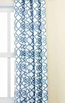 Madison Park Daven Printed Fretwork 3M Scotchgard Outdoor Panel 0 226x360