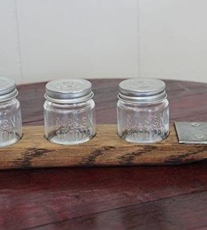 Mason Jar Flight Moonshine Flight Tasting Set Mason Jar Beer Flight Mason Jars Included 0 1 300x333