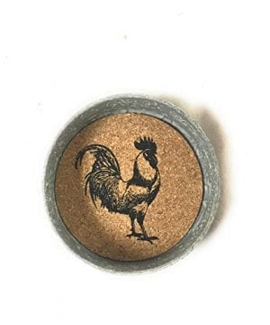 Mason Jar Rooster Lid Coaster Pack Of 4 0 0 300x360
