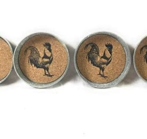 Mason Jar Rooster Lid Coaster Pack Of 4 0 1 300x285
