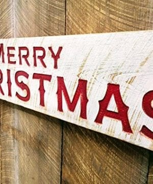 Merry Christmas Sign Large 48x10 Porch Holiday Decor 0 0 300x360
