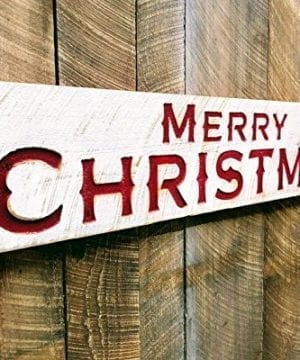 Merry Christmas Sign Large 48x10 Porch Holiday Decor 0 300x360