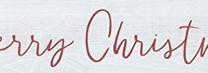 Merry Christmas Whitewash 12 X 25 Pine Wood Tabletop Stick Sign 0 300x106
