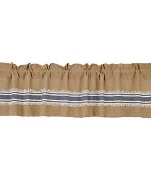 Mill Creek Burlap Farmhouse Country Curtains 0 300x360