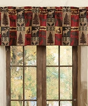 Modern Farmhouse Forest Valance Kitchen Living Room Bedroom Bathroom 0 300x360