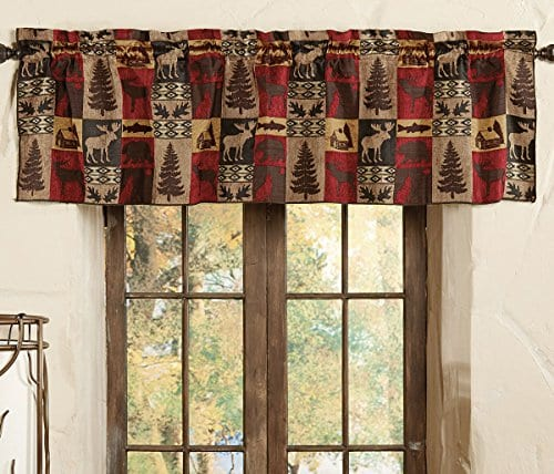 Modern Farmhouse Forest Kitchen Valance