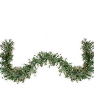 Northlight 6 X 9 Pre Lit Country Mixed Pine Artificial Christmas Garland Clear Lights 0 300x360