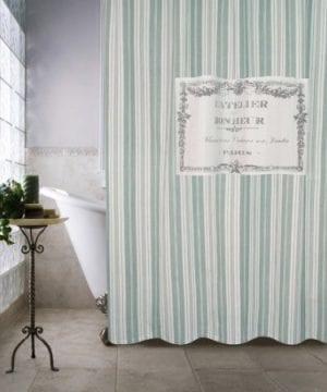 Park B Smith Metro Farmhouse Boneur Shower Curtain 0 300x360