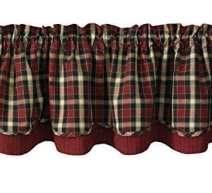 Park Designs Concord Lined Layer Valance 72 X 16 0 300x273