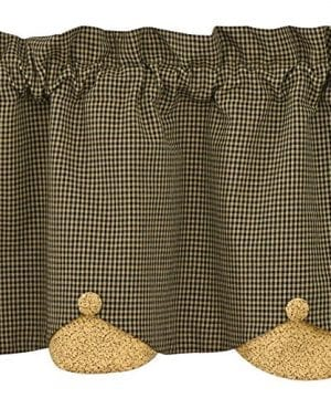 Park Designs Country Star Lined Scalloped Valance 60 X 15 0 300x360