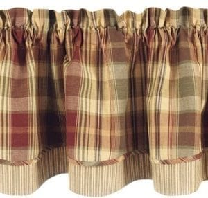Park Designs Saffron Valance Lined Layer Curtain 72 Inches Long By 16 Inches Tall 0 300x286