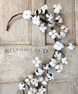 Real Cotton Boll Garland 5ft Garland Adjustable Stems Farmhouse Decor Wedding Centerpiece 0 0 300x360