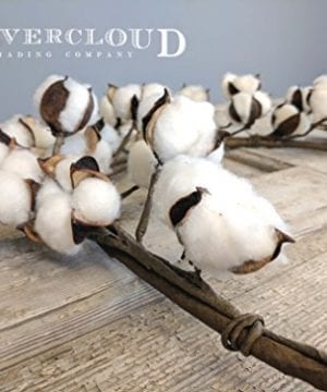 Real Cotton Boll Garland 5ft Garland Adjustable Stems Farmhouse Decor Wedding Centerpiece 0 3 300x360