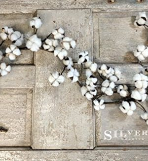 Real Cotton Boll Garland 5ft Garland Adjustable Stems Farmhouse Decor Wedding Centerpiece 0 300x325