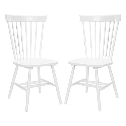 Safavieh Joslyn Dining Side Chairs White Set Of 2 0