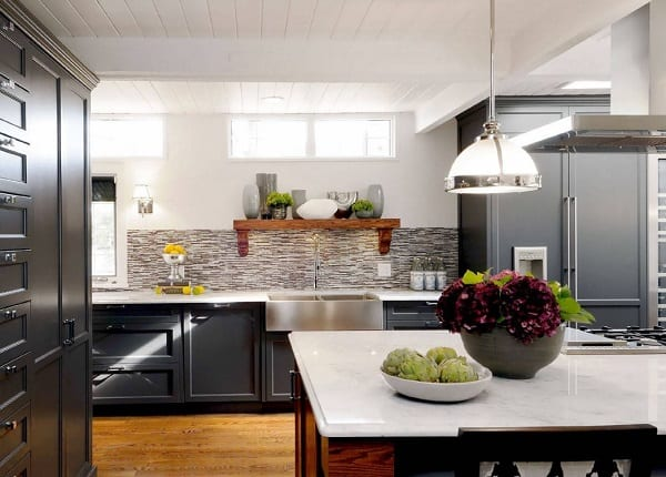 Sask Cres Kitchen by Atmosphere Interior Design Inc