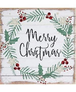 Sincere Surroundings Perfect Pallet 14 X 14 Wood Sign Merry Christmas 0 300x360