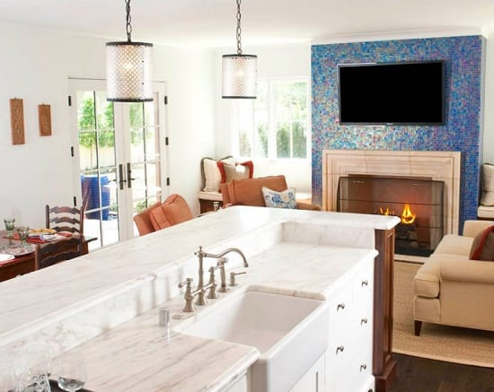 Spanish Colonial Remodel by Astleford Interiors Inc