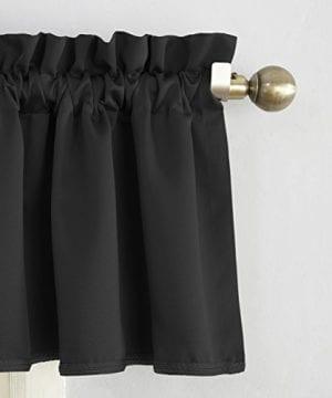 Sun Zero Barrow Energy Efficient Rod Pocket Curtain Valance 0 0 300x360