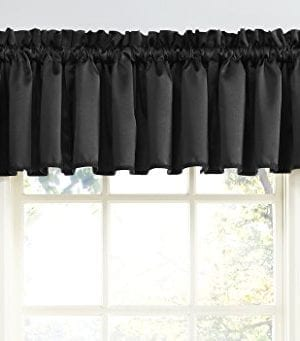 Sun Zero Barrow Energy Efficient Rod Pocket Curtain Valance 0 300x341