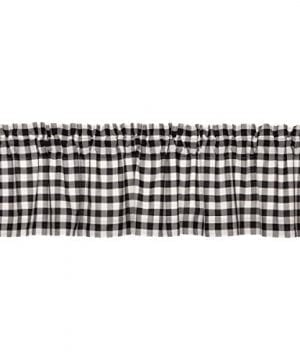 VHC Brands Annie Buffalo Check Lined Valance 0 300x360