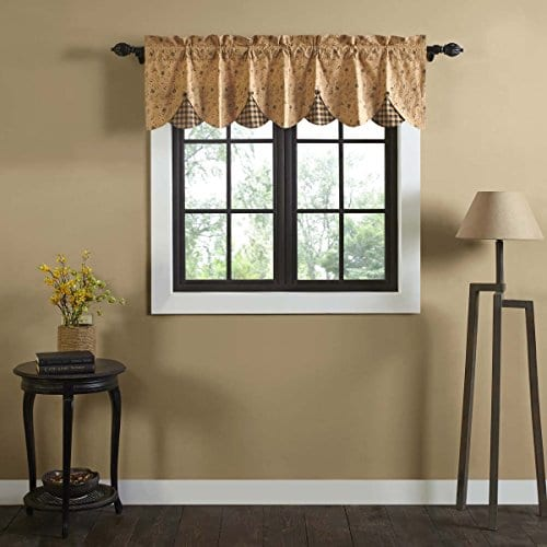 VHC Brands Maisie Lined Valance 0 0