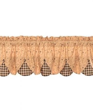 VHC Brands Maisie Lined Valance 0 300x360