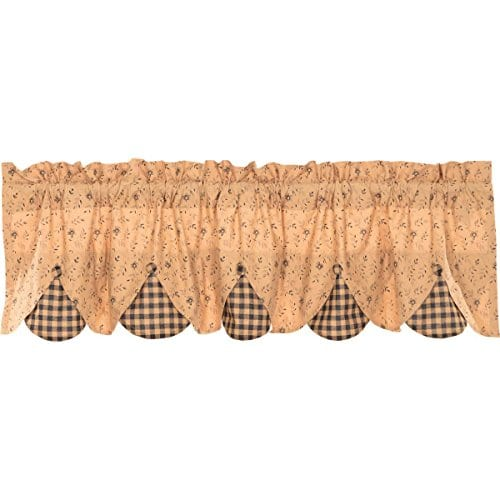 VHC Brands Maisie Lined Valance 0