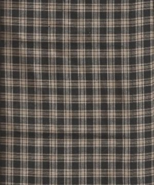Valance Homespun Black And Tan Country Primitive Theme Curtain Window Treatment Extra Wide 0 2 300x360