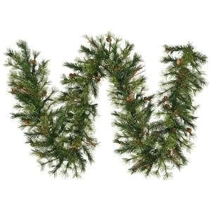 Vickerman Mixed Country Pine Garland With 200 Tips 9 Feet By 12 Inch 0 300x300