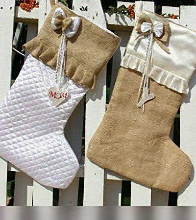 18cba4e205a Quick View. Farmhouse Christmas Decor. Personalized Christmas Farmhouse  Stockings