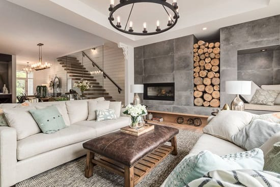 Altadore Showhome by Trickle Creek Designer Homes by ICON Stone + Tile