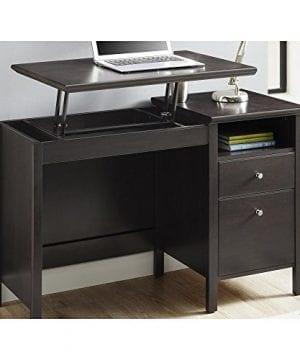 Ameriwood Home 9564196COM Adler Lift Top Desk Rustic Oak 0 0 300x360