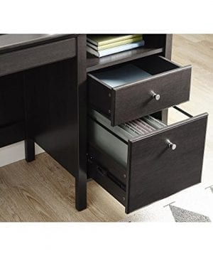 Ameriwood Home 9564196COM Adler Lift Top Desk Rustic Oak 0 1 300x360