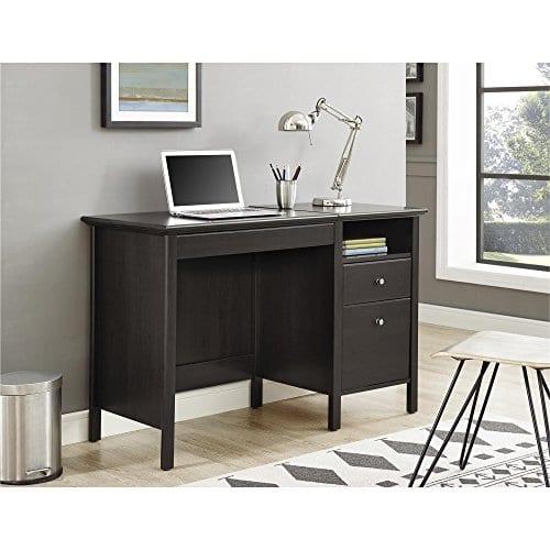 Ameriwood Home 9564196COM Adler Lift Top Desk Rustic Oak 0 2