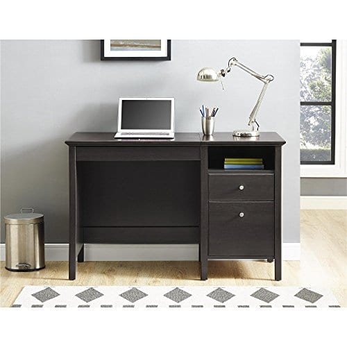 Ameriwood Home 9564196COM Adler Lift Top Desk Rustic Oak 0 3