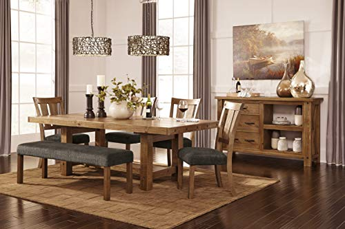 Ashley Furniture D775 09 Large Dining Room Bench 0 1