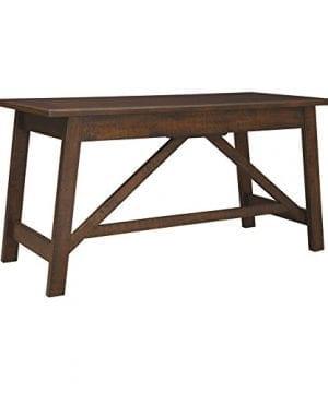 Ashley Furniture Signature Design Baldridge Large Leg Home Office Desk Rustic Brown 0 0 300x360