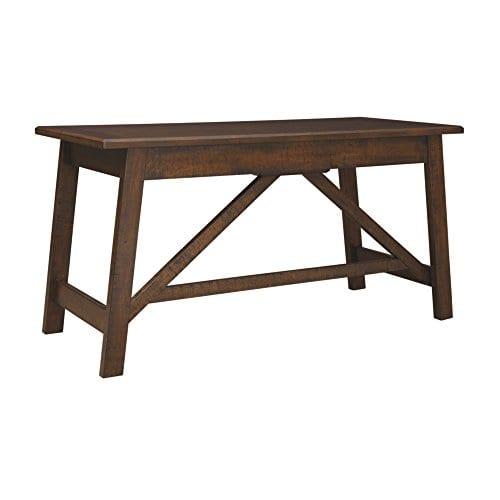 Ashley Furniture Signature Design Baldridge Large Leg Home Office Desk Rustic Brown 0 0