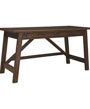 Ashley Furniture Signature Design Baldridge Large Leg Home Office Desk Rustic Brown 0 300x360
