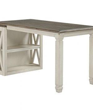 Ashley Furniture Signature Design Bolanburg Half Desk Half Desk Only Two Tone 0 300x360